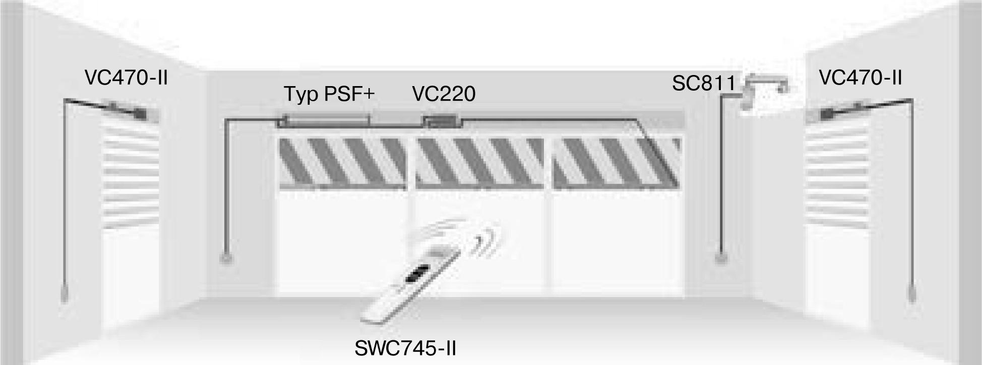Becker SWC745-II Weiß