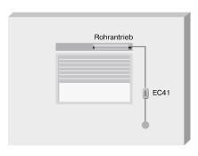 Becker EasyControl EC41 Anwendungsbeispiel