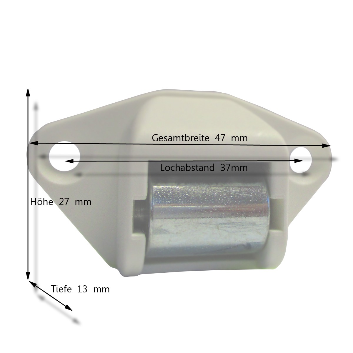 Gurtleitrolle Königsrolle - Minigurt (Quer) Maße