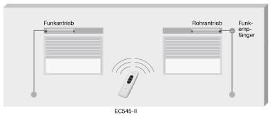 Becker EC545-II Weiß