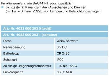 Becker SWC442-II