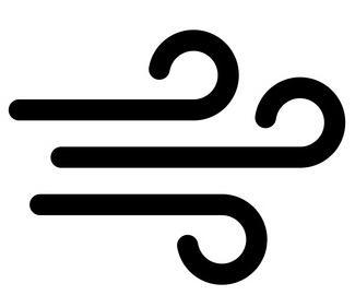 Piktogramm Wind