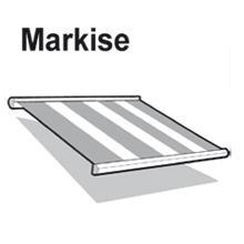 Einsatzgebiet Markisen