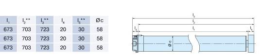 Becker L-M04 Technische Zeichnung und Daten