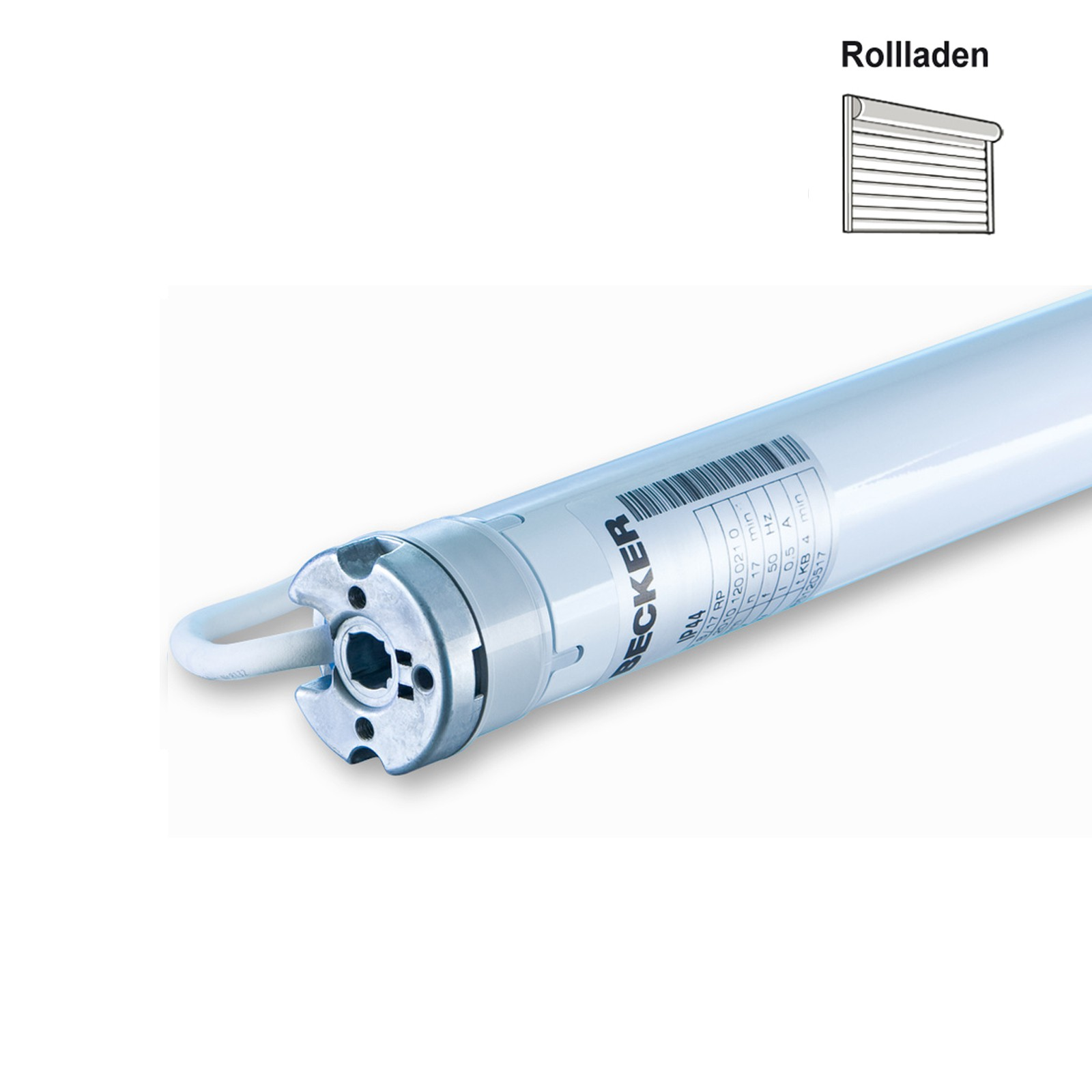 Rolladenmotor Becker R-RP Grafik