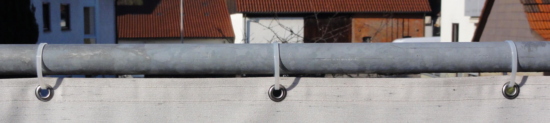 Balkonverkleidung Befestigung