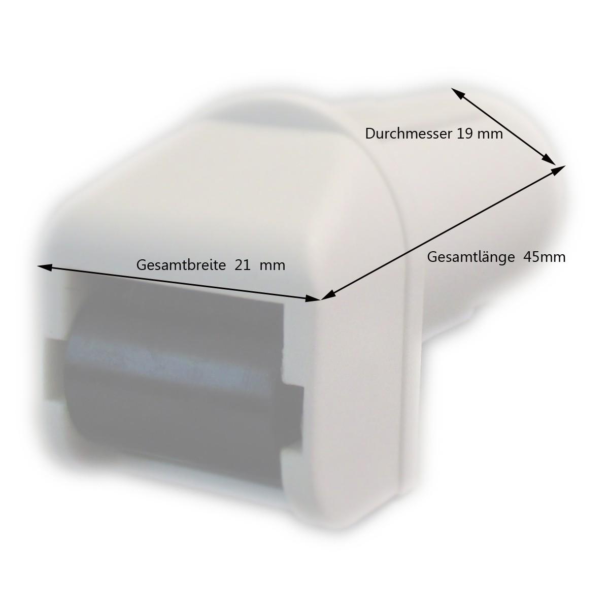 Steckleitrolle Kunststoffrolle Maße